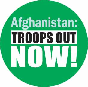 Afghanistan: troops out now