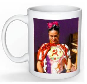 Frida Kahlo mug back