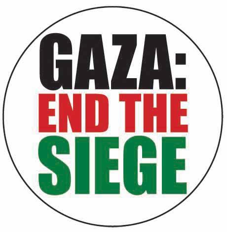 Gaza: End the siege