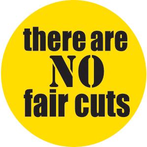 No fair cuts