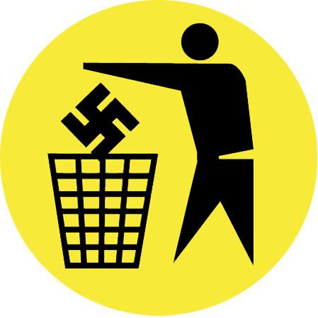 Nazis in the bin