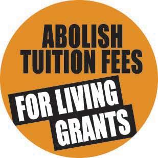 Abolish tuition fees