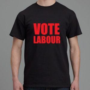 Vote Labour shirt black