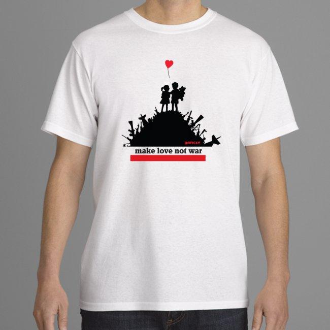 love not war white