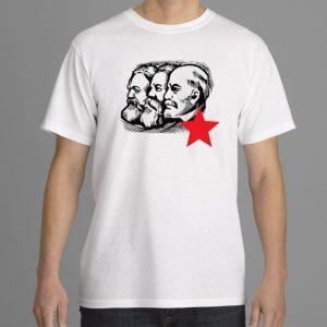 Marx, Lenin, Engels white ready