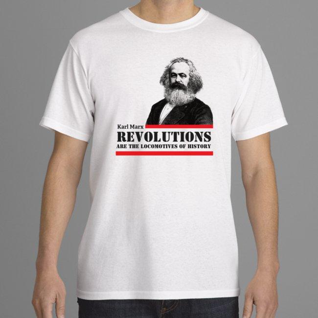 Marx shirt ready white