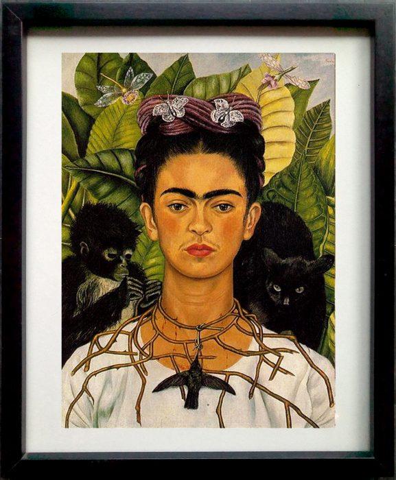 Frida Kahlo monkeys