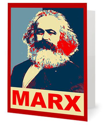 Marx greeting card new